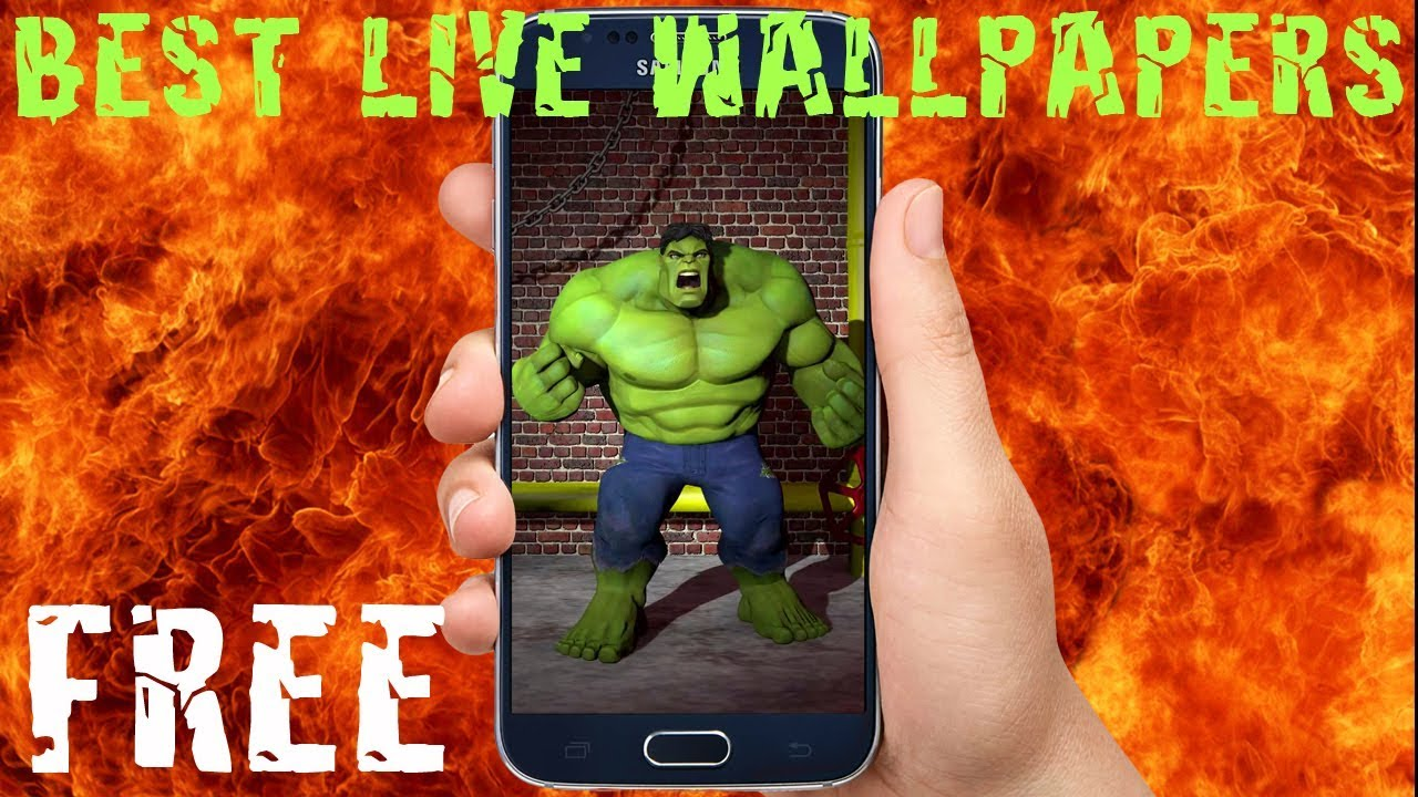 Top Hulk Live Wallpapers Free Youtube