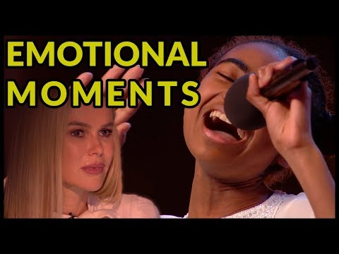 "Top 5 ""WHEN JUDGES START TO CRY* And Get EMOTIONAL MOMENTS ON BRITAIN'S GOT TALENT!"