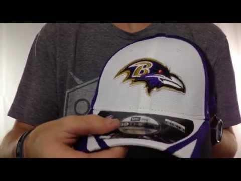 Ravens  2014 NFL TRAINING FLEX  White Hat by New Era - YouTube bfc8dd00d