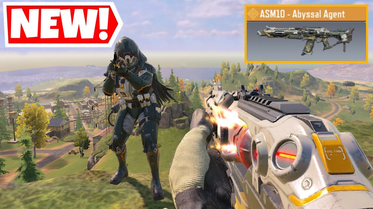 *NEW* ASM10 ABYSSAL AGENT + FIREBREAK SEARAVEN GAMEPLAY IN CALL OF DUTY MOBILE BATTLE ROYALE!