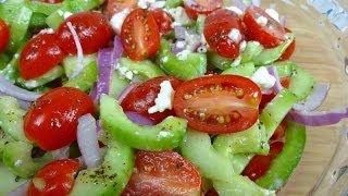 Ensalada Griega - ¡Deliciosa y Fresca! - Mi Cocina Rápida