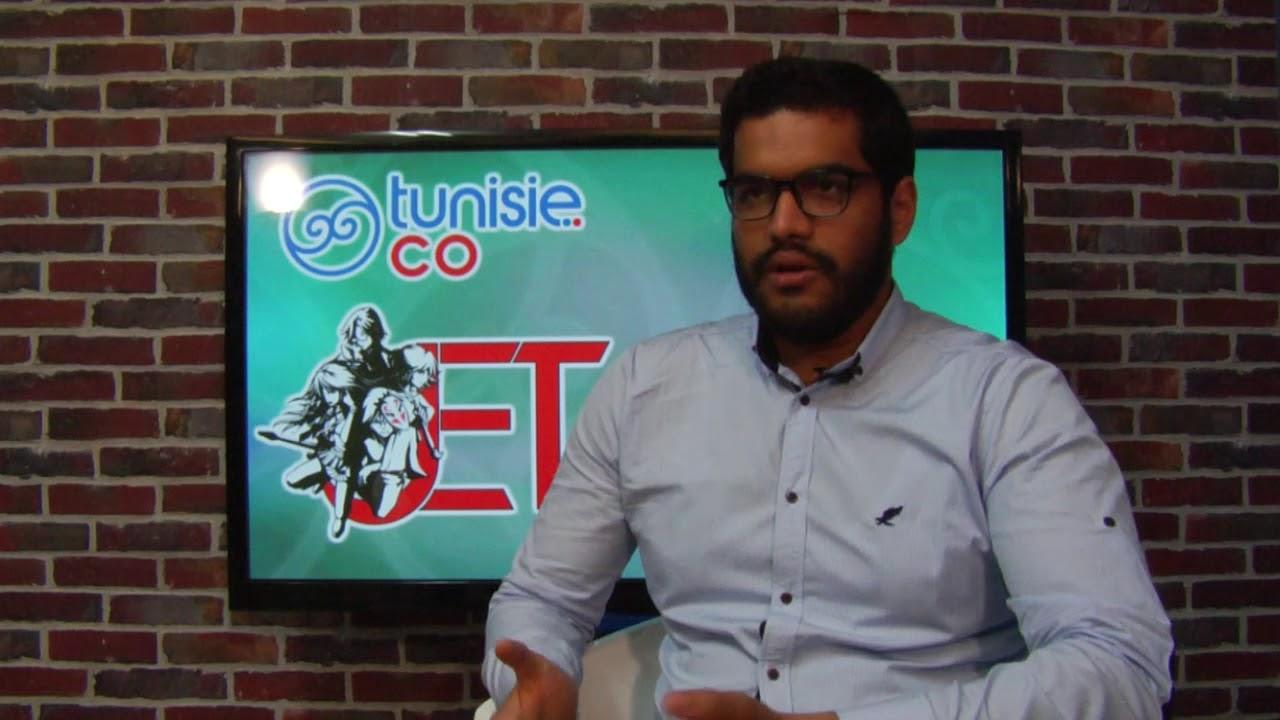 Interview de Hichem Chebbi, président de l'association J.E.T ou japanese events in tunisia