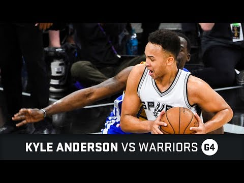 Kyle Anderson Highlights: 20 PTS, 4 STL, 2 AST vs Warriors WC Finals Game 4 (22.05.2017)