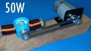 How to make 50W Dynamo , DIY 22V Generator
