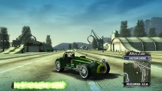 burnout paradise caterham super 7 r500