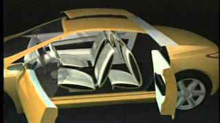 General Motors Hydrogen Fuel Cell Concept the O4 for 2001