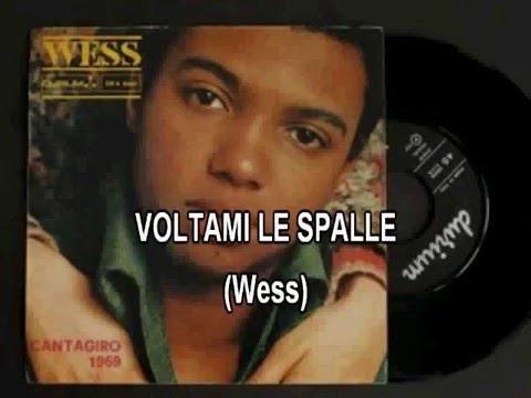 WESS -  VOLTAMI LE SPALLE - Karaoke - Syncro By.Steva2000 - VIDEOKARAOKEMANIA
