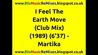 I Feel The Earth Move (Club Mix) - Martika | 80s Club Mixes | 80s Club Music | 80s Dance Music