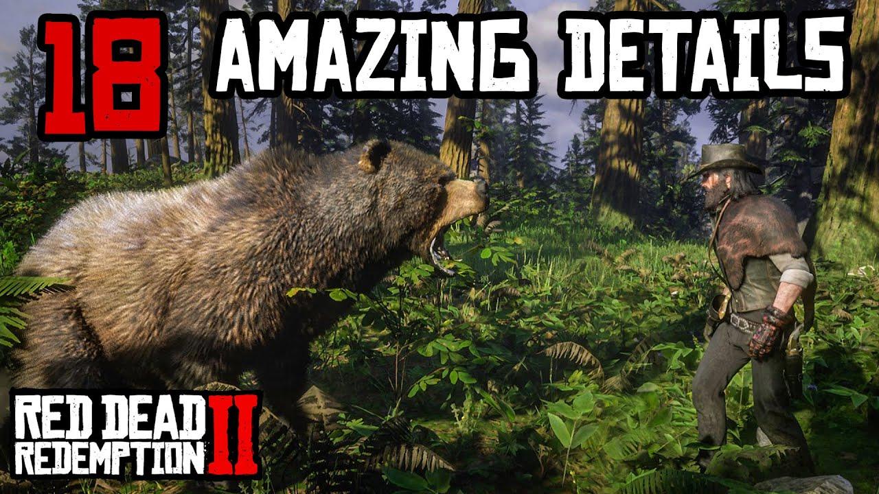 18 Amazing Details (Red Dead Redemption 2) thumbnail