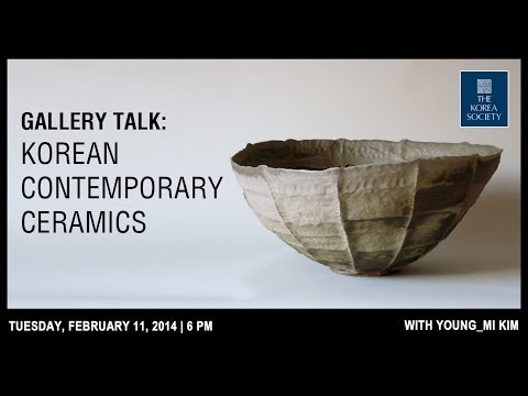 Gallery Talk: Korean Contemporary Ceramics