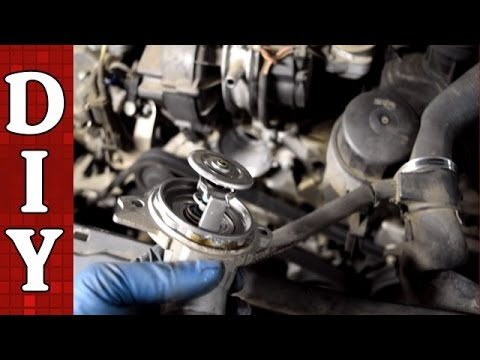 Mercedes Benz Egr Valve Wiring Diagram How To Replace The Thermostat Mercedes Benz W203 C240