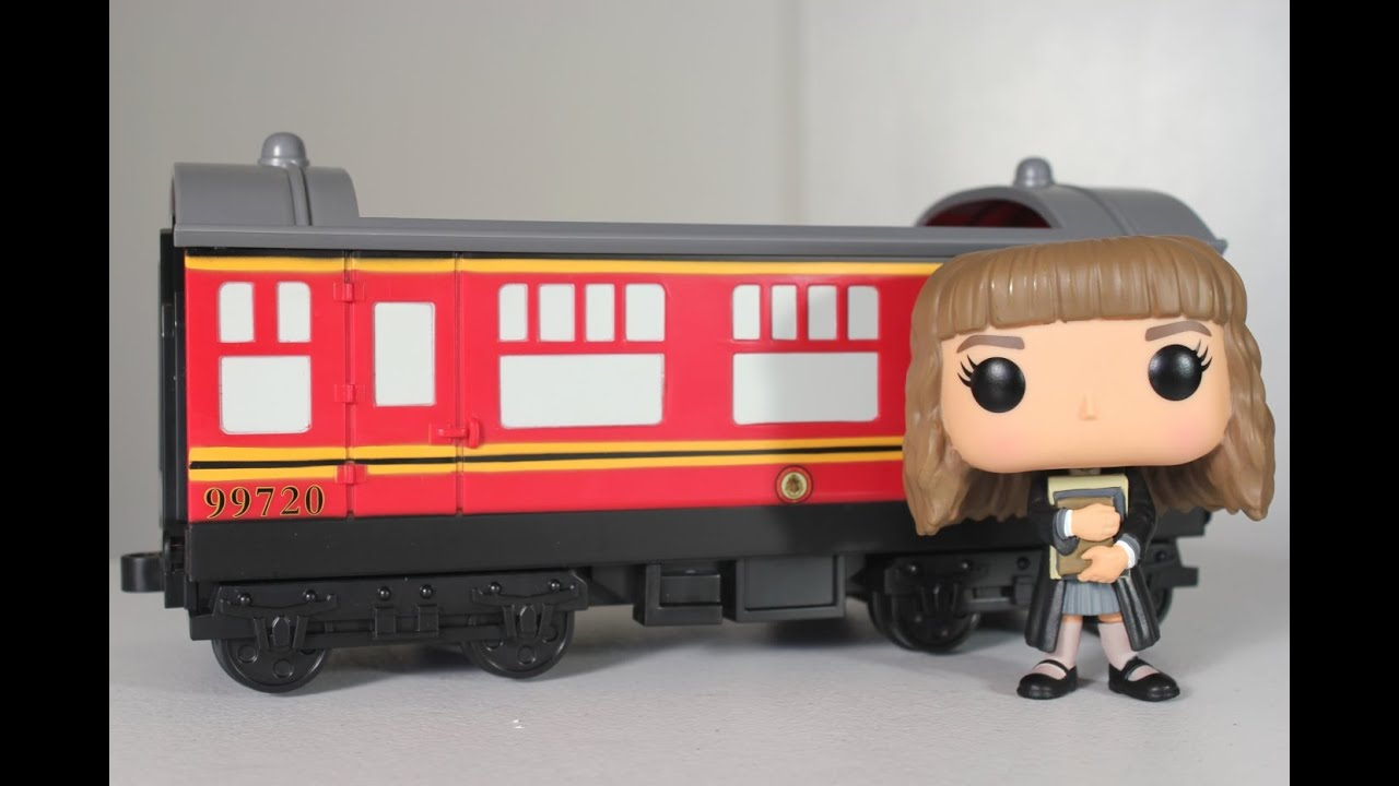 Hogwarts Express Carriage With Hermione Granger Funko Pop