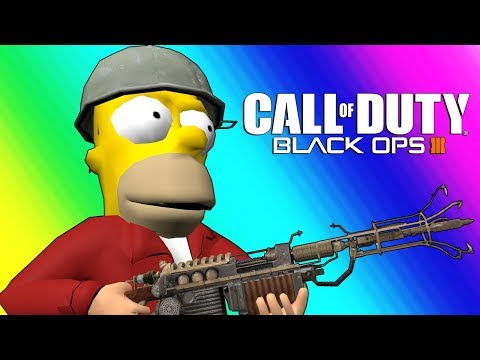Black Ops 3 Zombies Funny Moments – Futurama Map!
