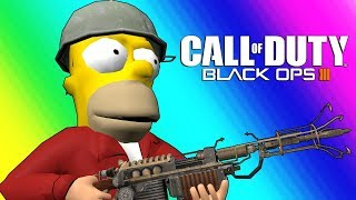 Black Ops 3 Zombies Funny Moments - Futurama Map! thumbnail