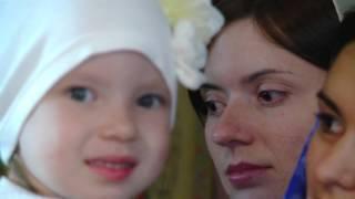 Красивый ролик про Крещение ребёнка во Владивостоке. 2015.10.03