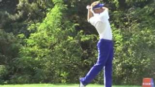 Ian Poulter slow motion Driver and Iron Golf Swing (2)