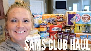 HUGE SAMS CLUB HAUL | MONTHLY SHOP | FAMILY OF 5