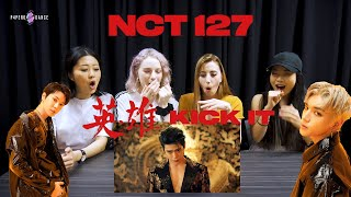 [MV REACTION] KICK IT (영웅/英雄) - NCT 127 (엔시티 127) | P4pero Dance