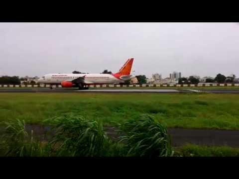 Air India Airbus 320 at Rajkot Airport ......