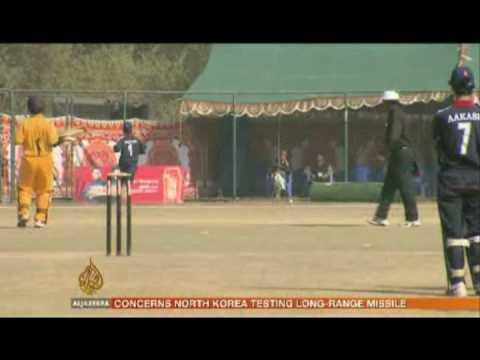 Junior cricket in Nepal