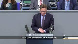 Konstantin von Notz zum Datenschutz-Anpassungs- und Umsetzungsgesetz EU