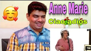 Anne-Marie - Ciao Adios (acoustic version live at The Voice) reaction