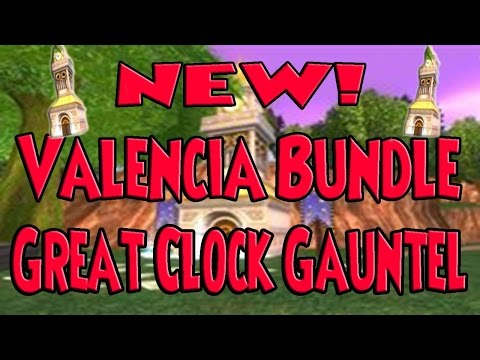 Wizard101 Great Clock Work Gauntlet! NEW!  Valencia Bundle! Check it out!!