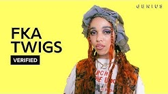 """FKA twigs """"home with you"""" Official Lyrics & Meaning   Verified"""