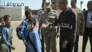 محافظ المنيا في جولات ميدانيه على مراكز ومدن المحافظة
