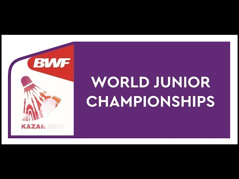 Bwf world junior mixed team championships 2019 - day1 court 1-6 of 9 - court 3 mp3