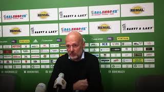 8. kolo: Trenér Michal Bílek po vítězství na Bohemians