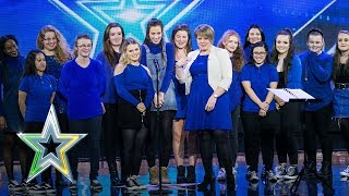 The DeafTones beautifully perform Ed Sheeran classic | Auditions Week 3 | Ireland's Got Talent 2018