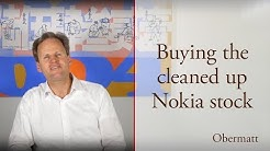 Buying the cleaned up Nokia stock