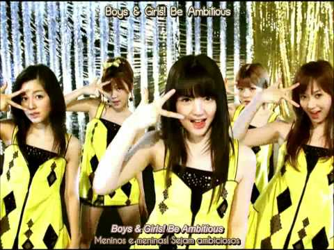 [HD][ENG+PT]Morning Musume - Ambitious! Yashinteki de Ii Jan