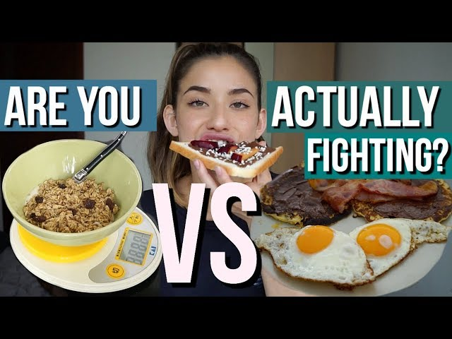 What I Eat In A Day - GIVING IN vs FIGHTING YOUR ED
