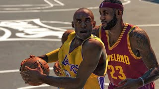NBA 2k15 Blacktop | Kobe Bryant vs Lebron James | Who would win in 1v1 ? PS4 / Xbox One