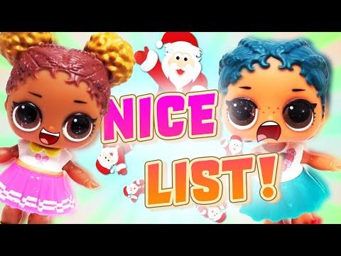 Baixar LOL Surprise Dolls Get On Santa's Nice List! Dollface, Diva and MC Swag go on an Adventure!