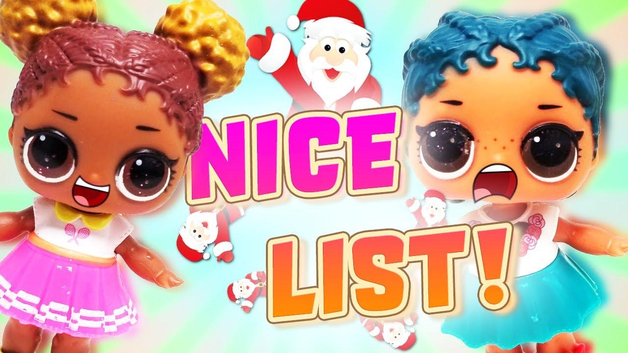 Lol surprise dolls get on santa 39 s nice list dollface - Diva lol surprise ...
