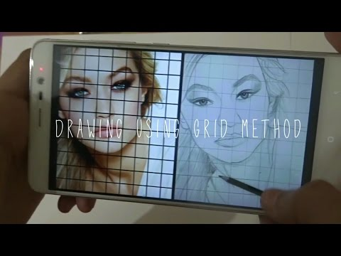 Tutorial | How To Draw From A Photo | GRID METHOD