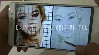 Tutorial   How to Draw From a Photo   GRID METHOD