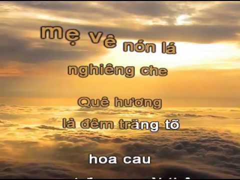 Karaoke Que Huong La Chum Khe Ngot