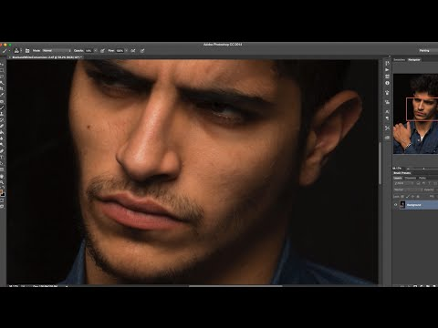 Retouching with the Mixer Brush Tool in Photoshop