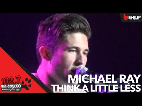 Michael Ray performs Think a Little Less at Fan Jam 14