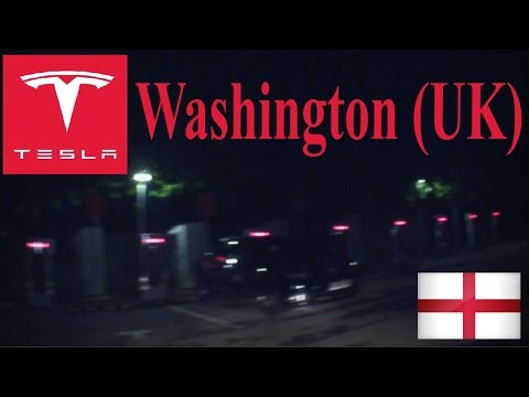 Washington UK Tesla Superchargers