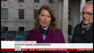 BBC world news Today 27 03 2016   100 years 1916 Ireland