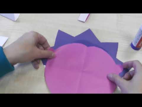 Как сделать маску ежика из картона