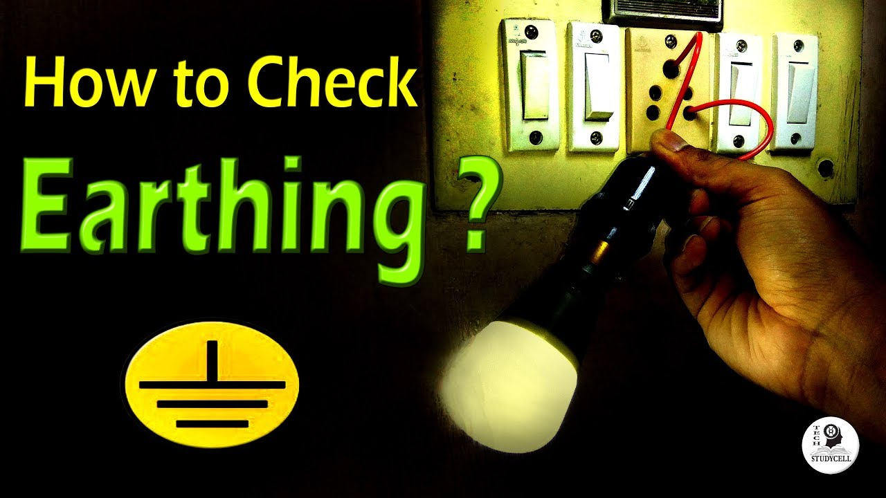 How To Check Earthing Is Provided Or Not With Test Lamp And Neutral Grounding Resistor Wiring Diagram Multimeter