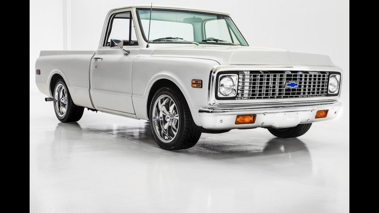 1972 Chevrolet Pickup C10 Fresh Restoration Youtube