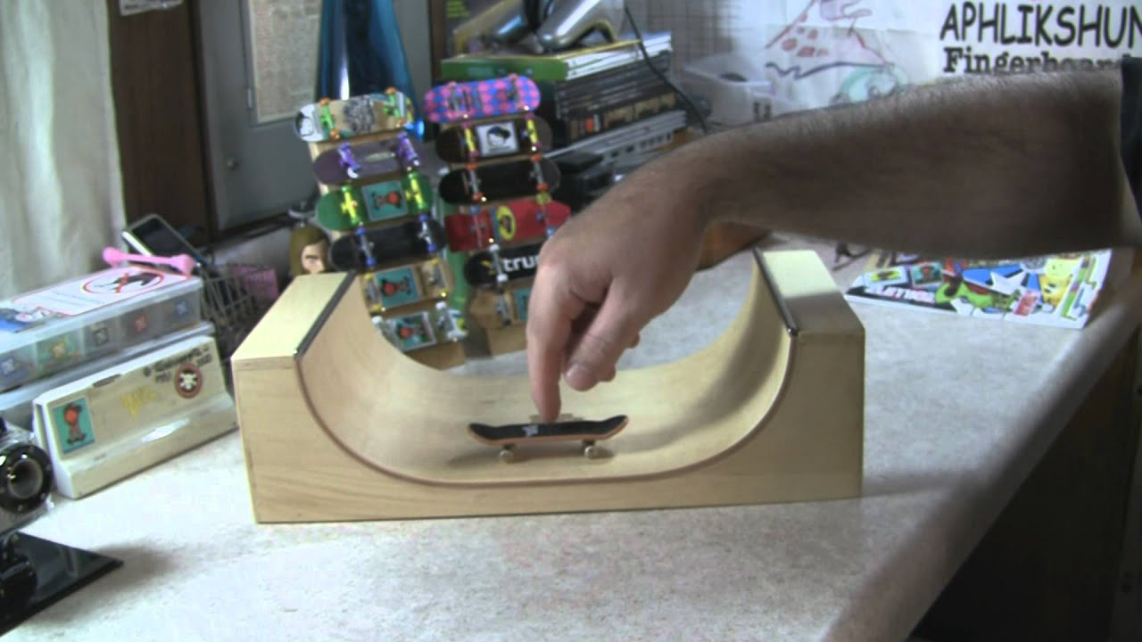Tech deck wood sk8 park wooden miniramp review youtube baanklon Image collections