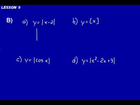 DIVE Video Lecture for Saxon Calculus Lesson 9, 2nd Edition